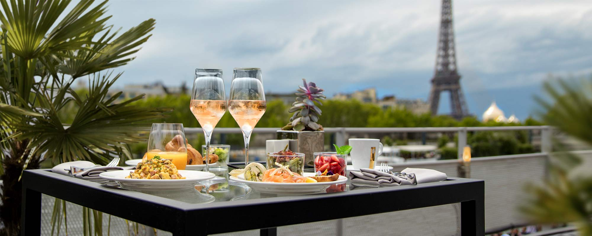 Terrasse - Rooftop - Le Brunch du Restaurant le Club